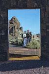 Spiegel-Selfie beim Besucherzentrum