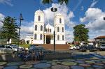 Die Kirche von Sarchí
