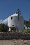 Alte Windmühle, zu einem Ferienhaus umfunktioniert (Tripití)