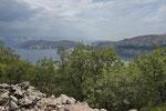 Blick auf die Insel Prvic