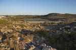Der Brackwassersee Achivadolimni