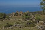 Überweidetes Gebiet im Norden Samothrakis