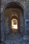 Der Eingang zur Burg