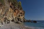 Bucht am ionischen Meer