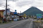 La Fortuna am Fuss des Volcán Arenal