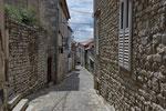 Gasse in der Altstadt von Krk