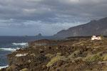 El Golfo, im Hintergrund Roques de Salmor