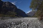 Nach einem Hochwasser: Wo ist der Fluss?