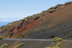 Die Farbenpracht des vulkanischen Gesteins