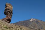 Roque Cinchado und Pice del Teide