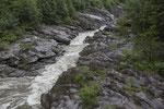 Die Maggia führt Hochwasser
