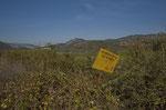 Jagdverbot auf Griechisch