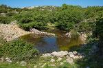 Doline in den Bergen Krks