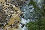 Zusammenfluss von Río Sucio und Río Hondura, Parque Nacional Braulio Carrillo, Cordillera Central