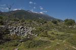 Landschaft im Norden Samothrakis