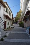 Gässchen in der Altstadt von Parga