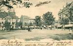 Münsterplatz um 1900, Bildnummer: bbv_00666