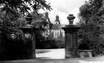 Südflügel mit barockem Eingang zum Hofgarten um 1935, Bildnummer: bbv_00072
