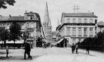 Kaiserplatz um 1900, Bildnummer: bbv_00079