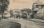 Rheinuferbahnhof um 1905, Bildnummer: bbv_00809