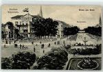 Kaiserplatz und Kaiserhalle um 1900, Bildnummer: bbv_00507