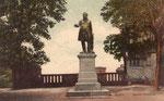 Ernst-Moritz-Arndt Denkmal auf dem Alten Zoll um 1905, Bildnummer: bbv_01138