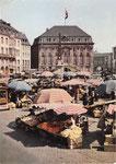 Marktplatz um 1950, Bildnummer: bbv_00393