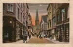 Remigiusstraße, Heliochromdruck um 1915, Bildnummer: bbv_00741