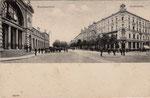 Bahnhofstraße um 1905, Bildnummer: bbv_00201