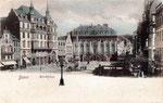 Marktplatz, Heliochromdruck um 1900, Bildnummer: bbv_00391