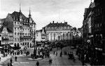 Altes Rathaus um 1920, Bildnummer: bbv_00617