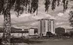 Godesberg, neuerrichtetes HICOC-Siedlung in Muffendorf, um 1960, Bildnummer: bbv_01116