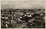 Blick auf die alte Rheinbrücke, Bildnummer: bbv_00761
