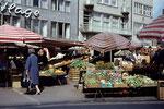 Marktplatz, Dia um 1965, Bildnummer: bbv_00677