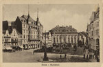 Marktplatz um 1910, Bildnummer: bbv_00603