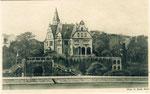 Villa von Wilhelm Spiritus um 1910, Bildnummer: bbv_01163