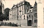 Ehem. Oberbergamt, jetzt Institut für Geschichtswissenschaft, um 1905, Bildnummer: bbv_00710