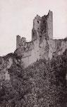 Ruine Drachenfels, Fotografie von 1891, Bildnummer: bbv_00950