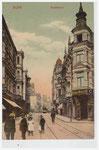 Poststraße, Heliochromdruck um 1900, Bildnummer: bbv_00732