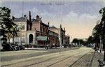 Bahnhofstraße, Heliochromdruck um 1915, Bildnummer: bbv_00203