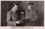 Adolf Hitler und Heinrich Alef, 1933, Bildnummer: bbv_01238