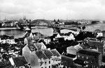 Alte Rheinbrücke um 1920, Bildnummer: bbv_00009