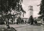 Universitätsklinik Venusberg, Fotografie um 1950, Bildnummer: bbv_00886