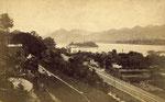 Bahnhof Rolandseck, Fotografie um 1900, Bildnummer: bbv_01094