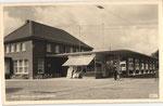 Rheinuferbahnhof um 1955, Bildnummer: bbv_00810