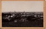 Blick vom Venusberg auf Poppelsdorf, Fotografie von 1895, Bildnummer: bbv_00899