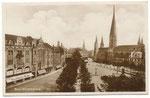 Münsterplatz um 1905, Bildnummer: bbv_00655
