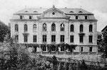 Ehem. Oberbergamt, jetzt Institut für Geschichtswissenschaft, um 1905, Bildnummer: bbv_00030