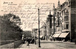 Brückenstraße um 1900, Bildnummer: bbv_00257