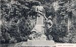 Simrock-Denkmal (untergegangen), um 1900, Bildnummer: bbv_01140